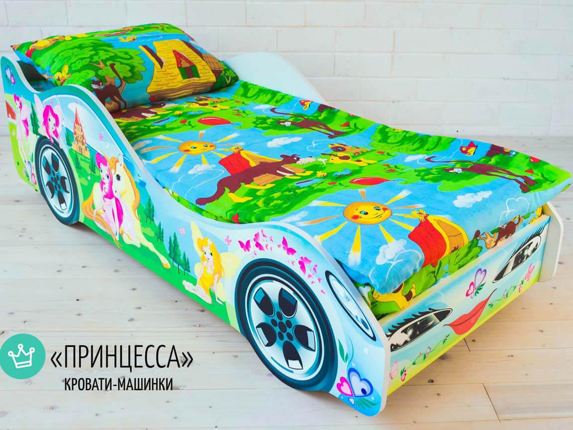 Кровать-машина_Принцесса