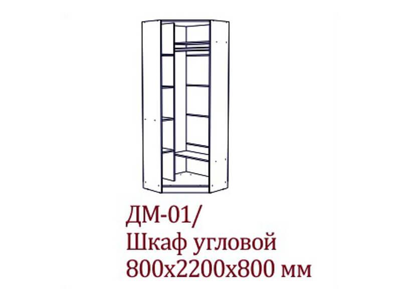 ДМ-01_Шкаф_угловой_800х2200х800_мм