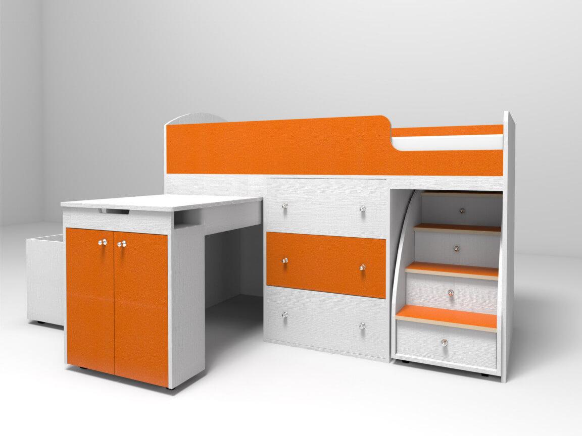 белое_дерево-оранжевый