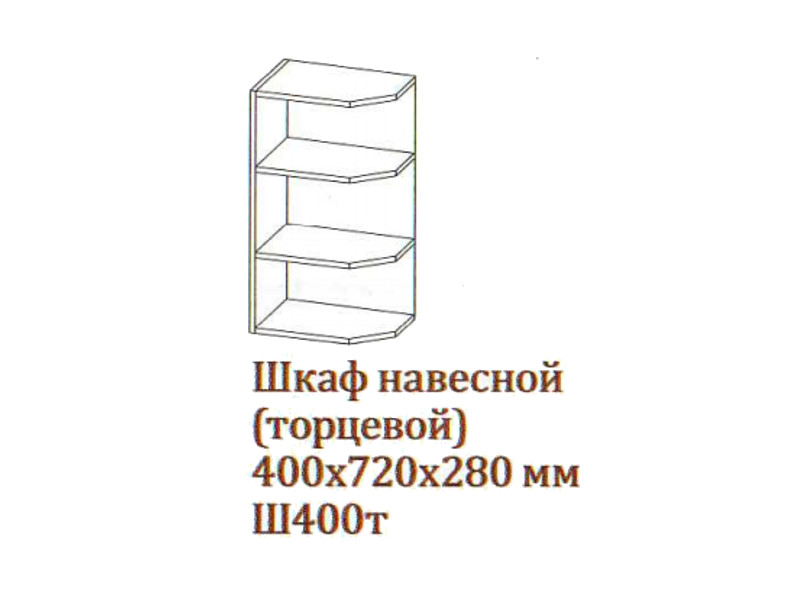 Шкаф_навесной_400-720_торцевой_Ш400т-720_400х720х280_Серый