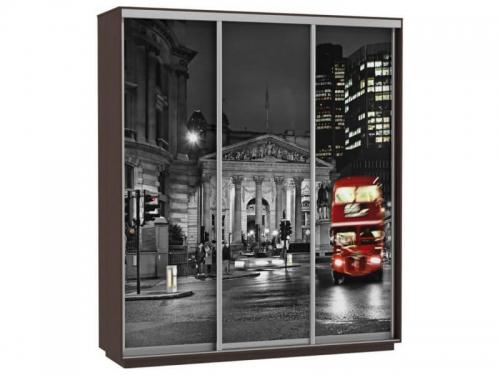 Шкаф-купе Трио Фото Ночной Лондон