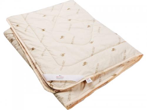 Одеяло стеганое на верблюжьей шерсти легкое