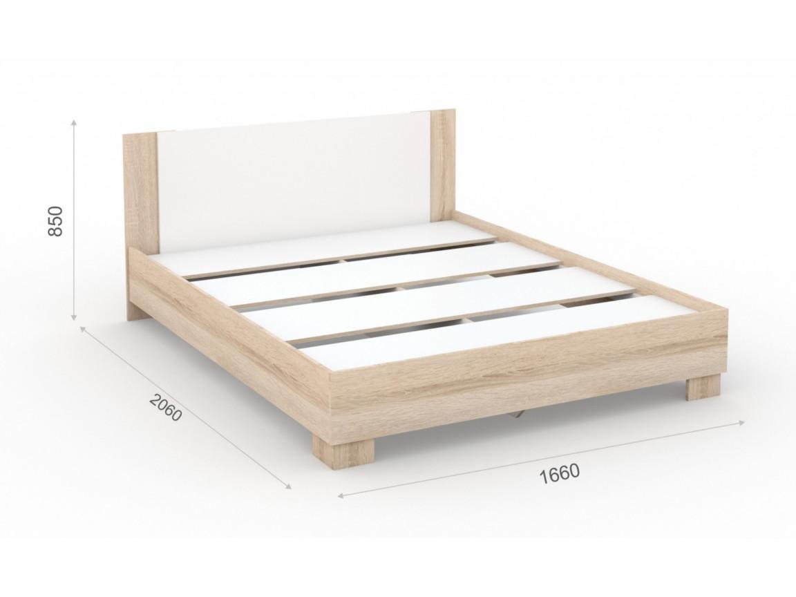 Кровать_160х200_основание_ЛДСП_1660х2060х850_мм